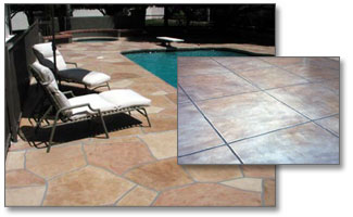 CenturyStone Concrete Products Backyard Swimming Pool and Patio Deck Coatings